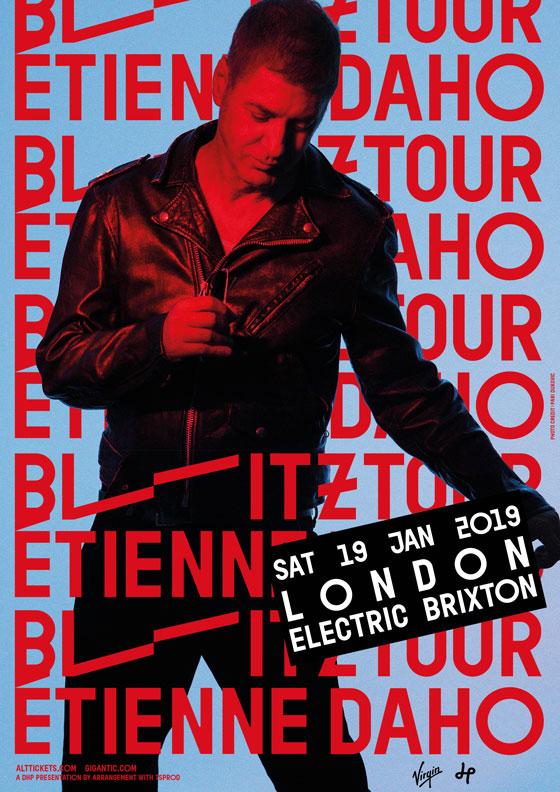 Etienne Daho - Blitz Tour - Londres