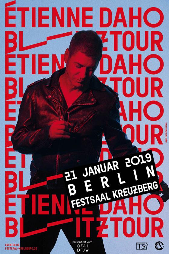 Etienne Daho - Blitz Tour - Berlin