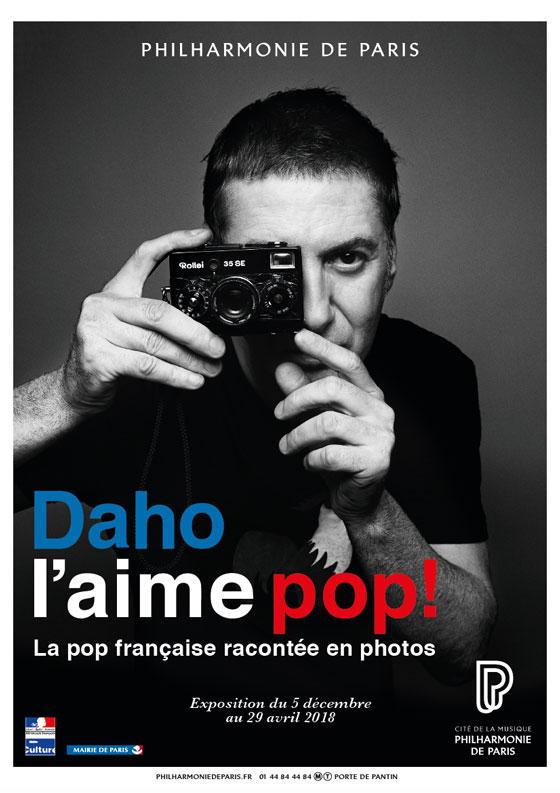 Etienne Daho - Daho l'aime pop - Exposition Philarmonie