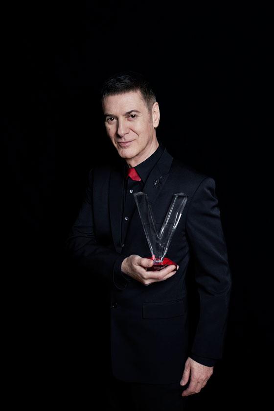 Etienne Daho - Victoire d'honneur aux Victoires de la musique 2018
