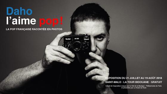 Etienne Daho - Exposition Daho l'aime pop ! - Saint-Malo