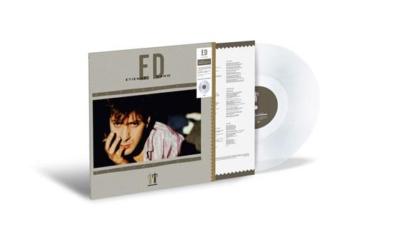 Album vinyle transparent vue 3D