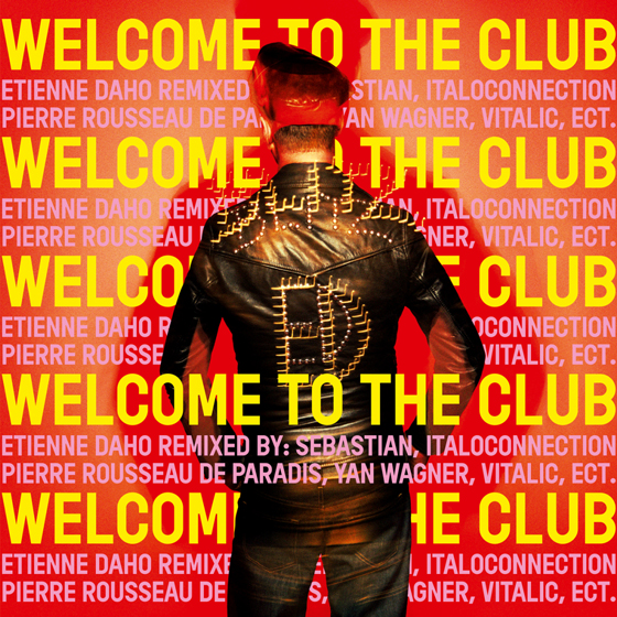 Etienne Daho - Welcome to the club - Vinyle 33T