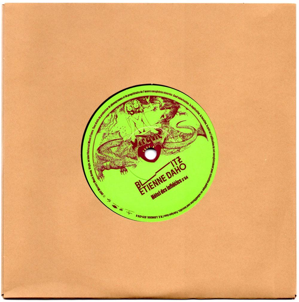 Vinyle 4 face B avec papier protection