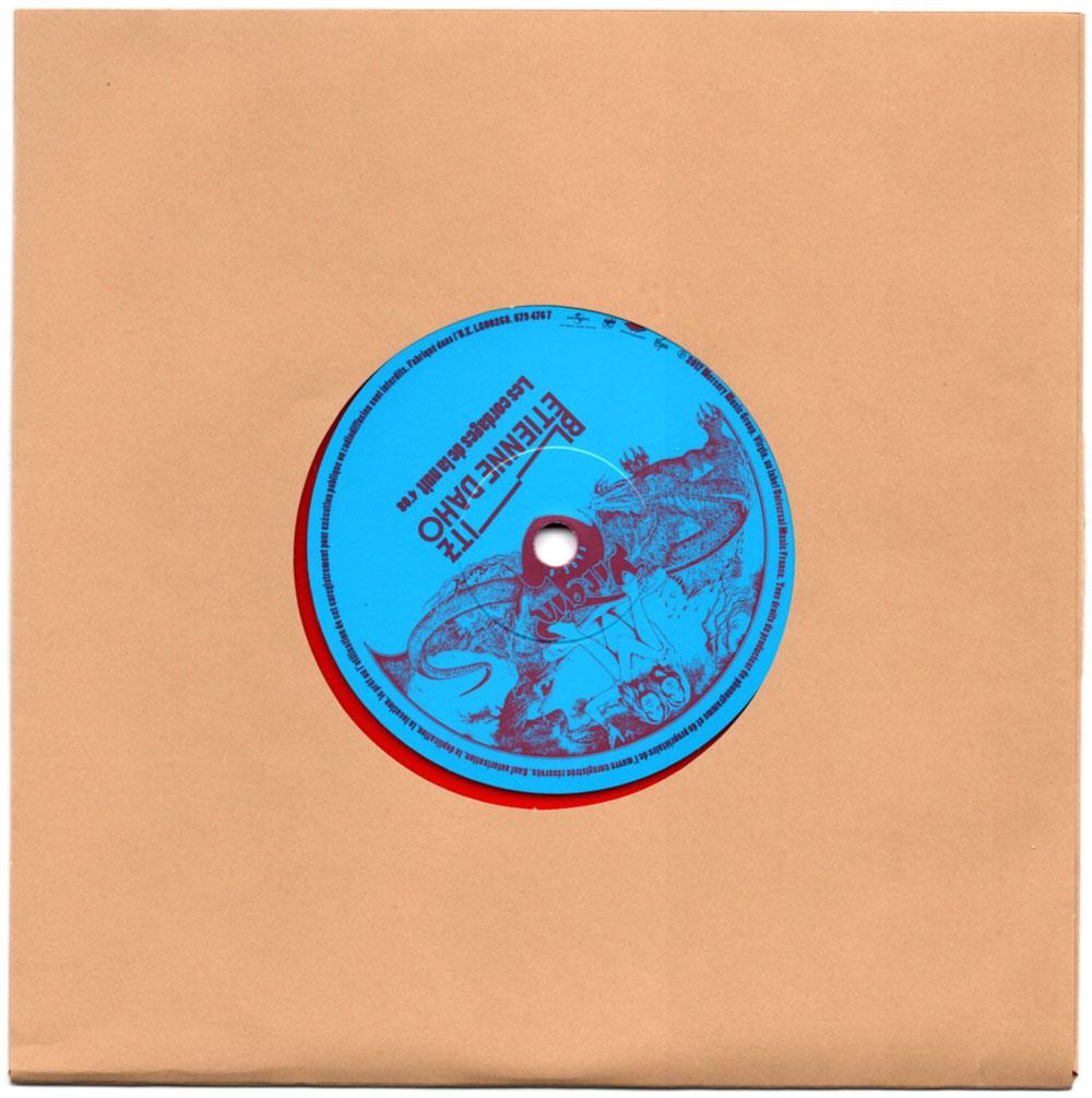 Vinyle 5 face B avec papier protection