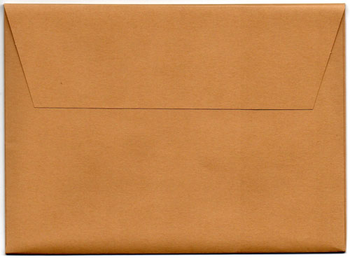 Enveloppe kraft beige verso (notes Etienne)