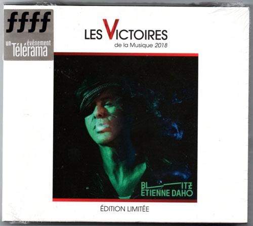 """Edition limitée """"Les Victoires de la Musique 2018"""" Coffret recto, emballé avec stick"""
