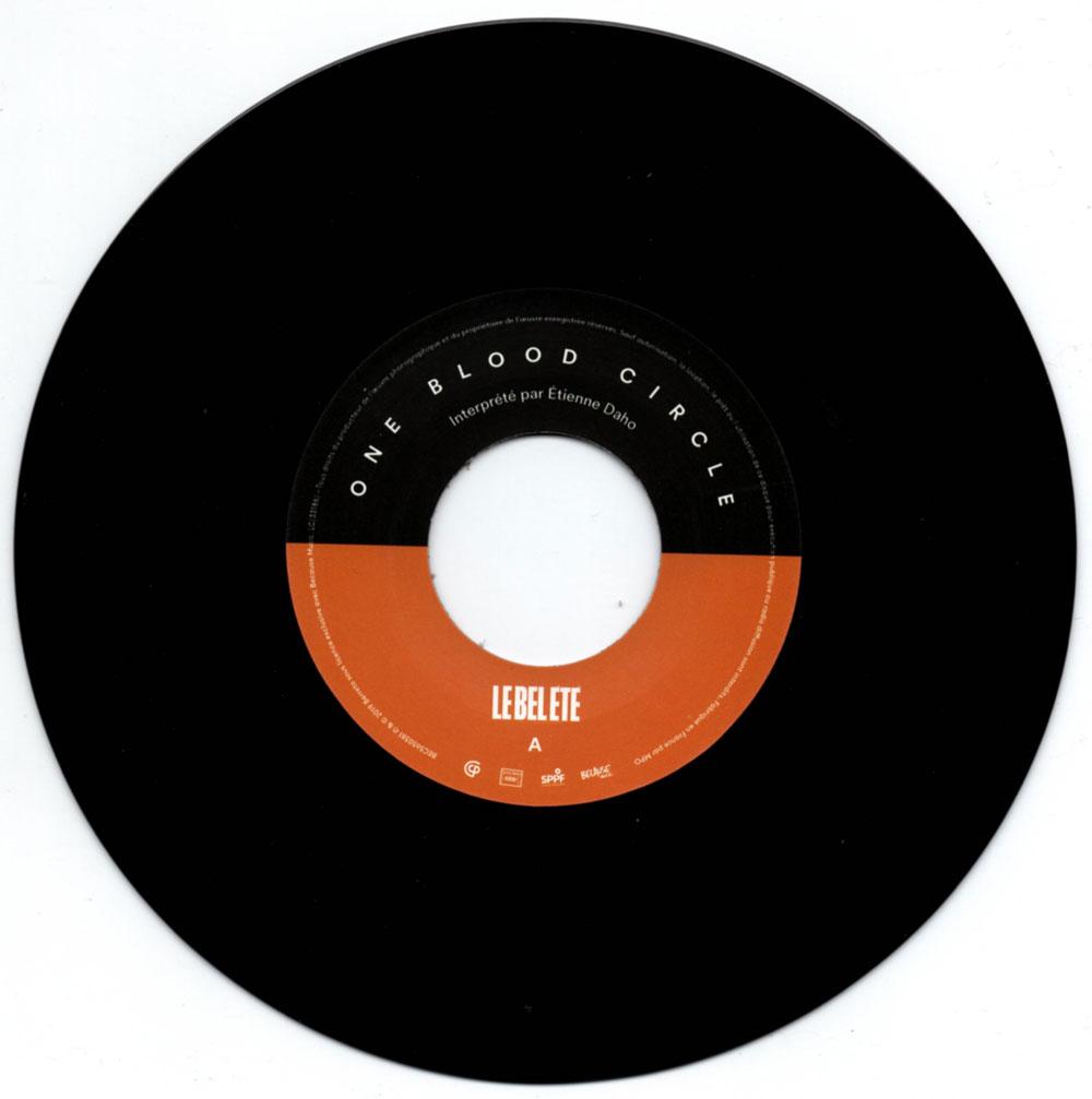 Vinyle recto
