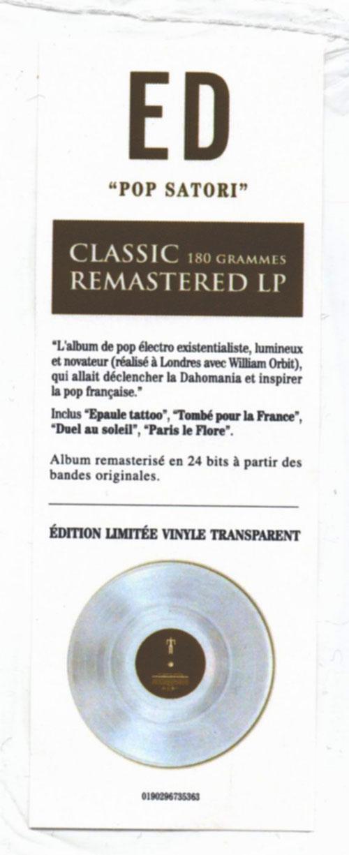 "Stick ""Classic Remastered LP"" 40 mm x 120 mm"