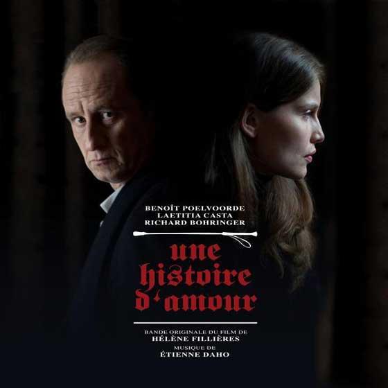 Une histoire d'amour, film de Hélène Fillières, pochette ep, musique d'Etienne Daho