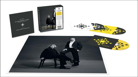 Jeanne Moreau & Etienne Daho - Le condamné à mort - Box 2 cd et dvd