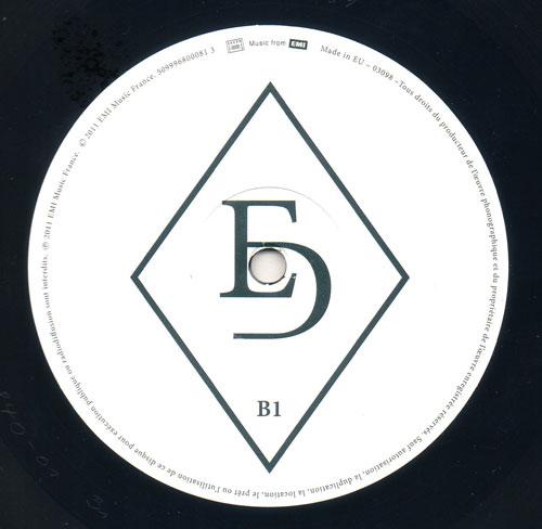 Disque 1, Face B centre