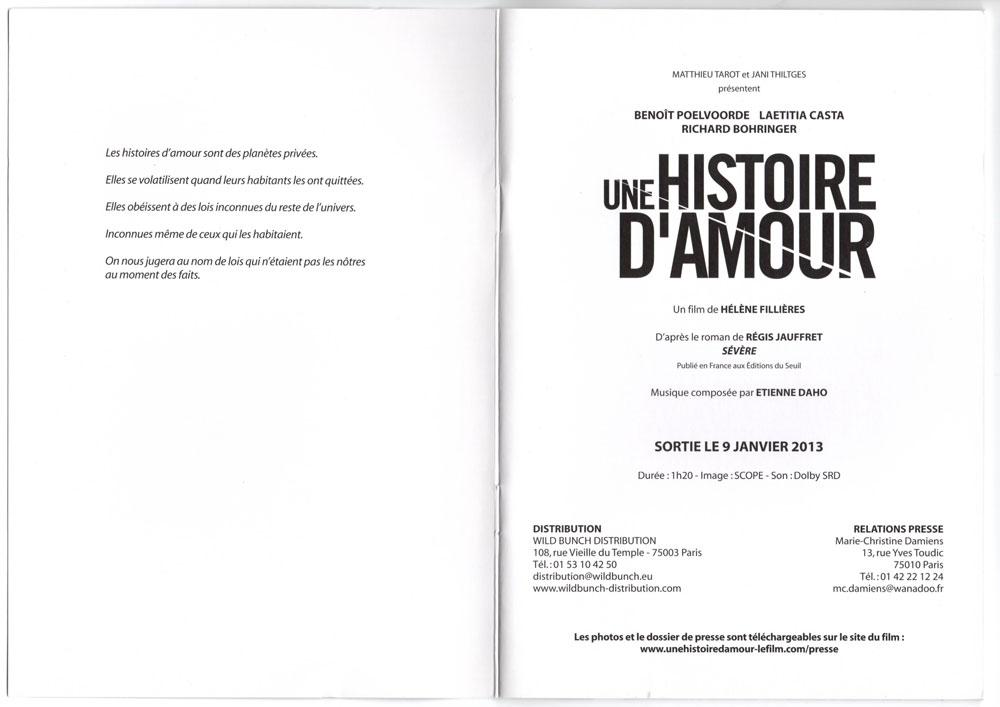Livret promo avec cd promo inclu, page 2-3