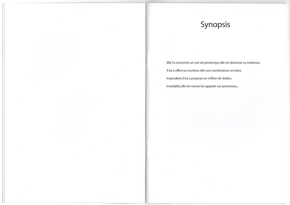 Livret promo avec cd promo inclu, page 4-5