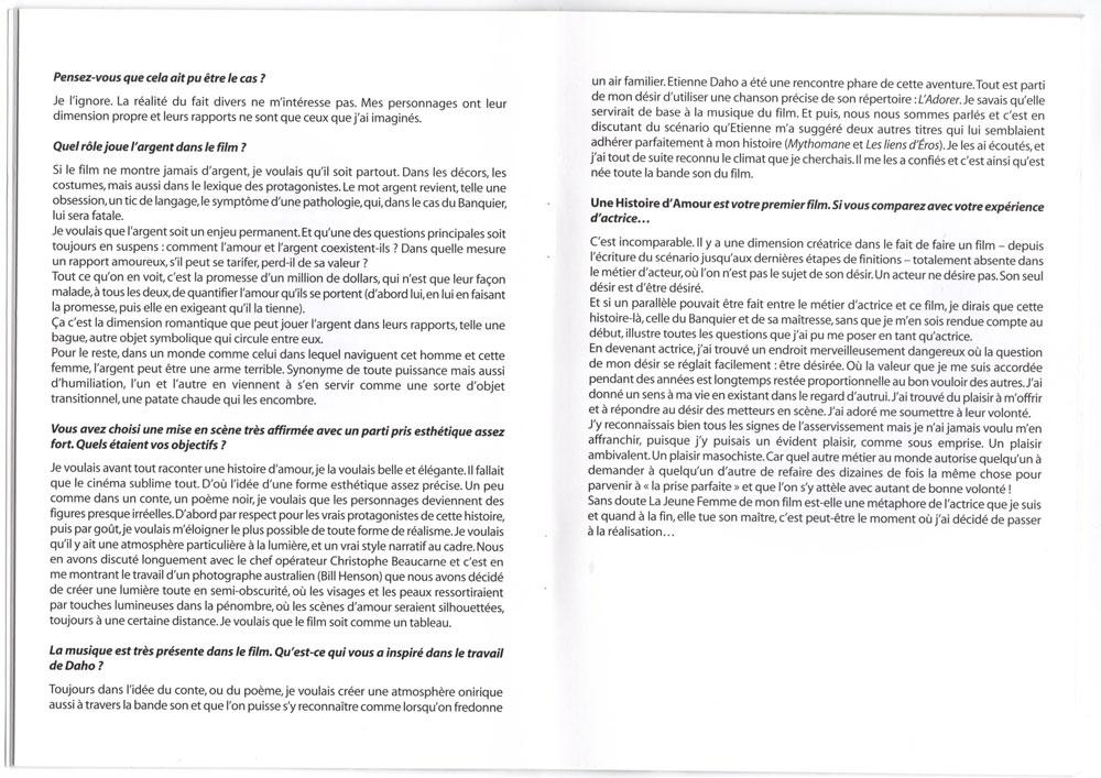 Livret promo avec cd promo inclu, page 12-13
