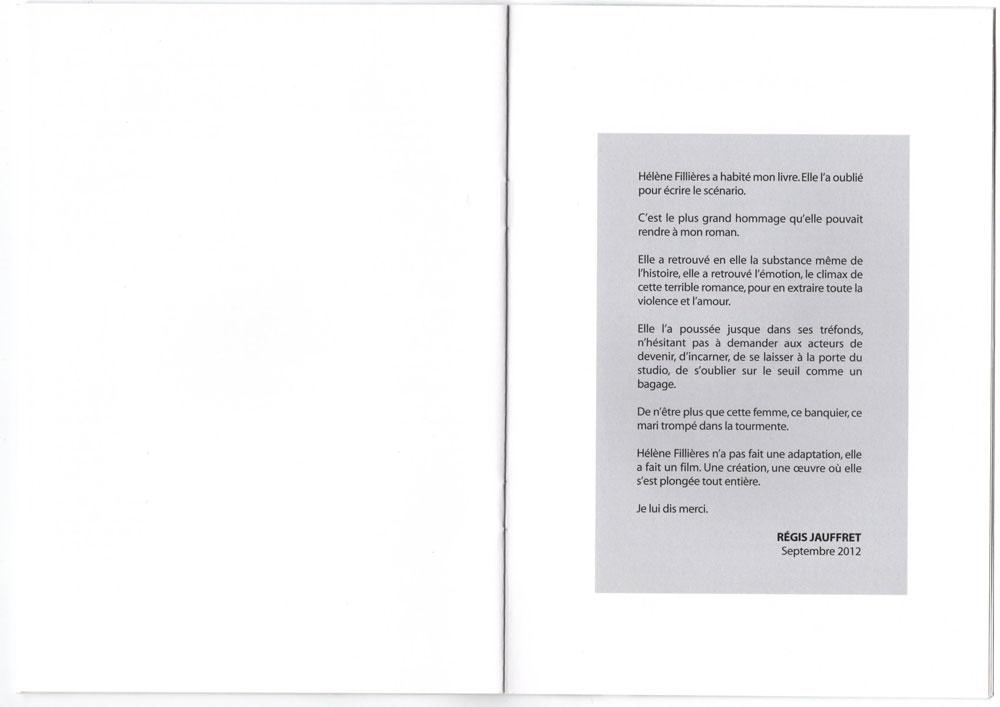 Livret promo avec cd promo inclu, page 14-15