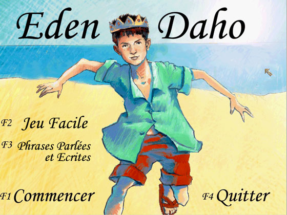 Etienne Daho - Album Eden - Jeu interactif