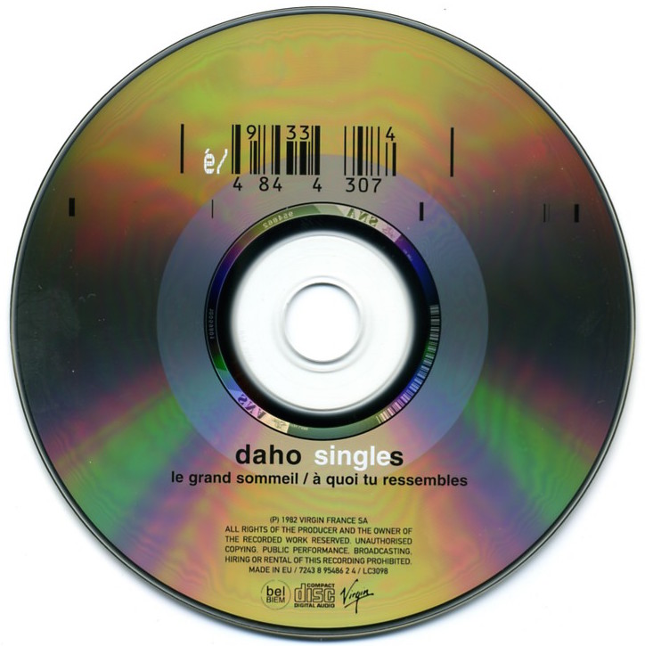 CD recto