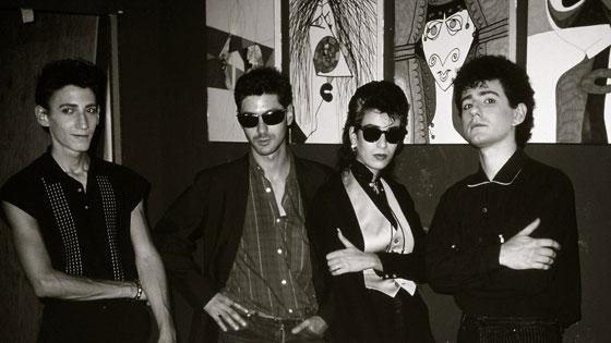 New York, Etienne avec les Comateens, 1983 <br /> Crédit : Jean-Eric Perrin