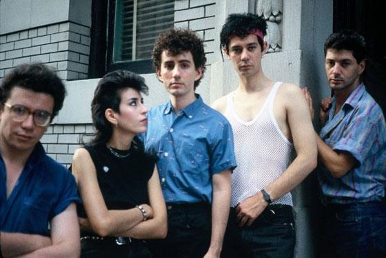 Etienne avec Fabrice Nataf, Les Comattens et Jean-Eric Perrin, New York, 1984