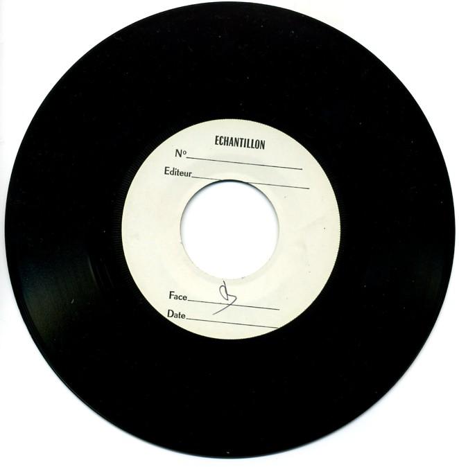 Disque verso (daté du 25 nov. 1983)