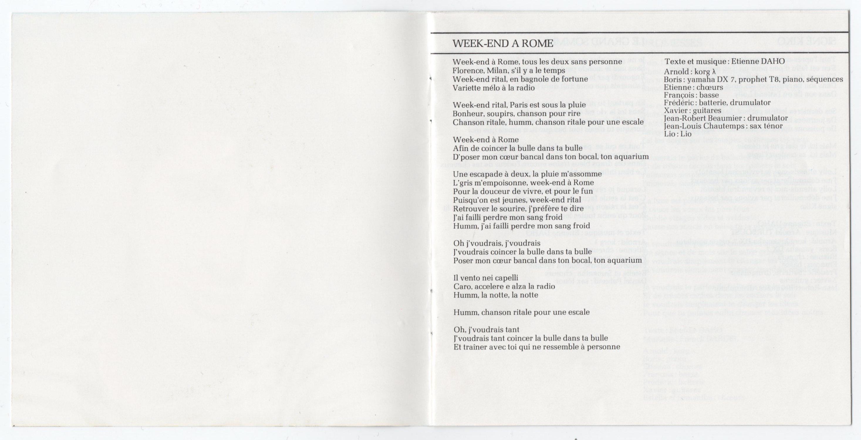 Livret intérieur, page 2-3