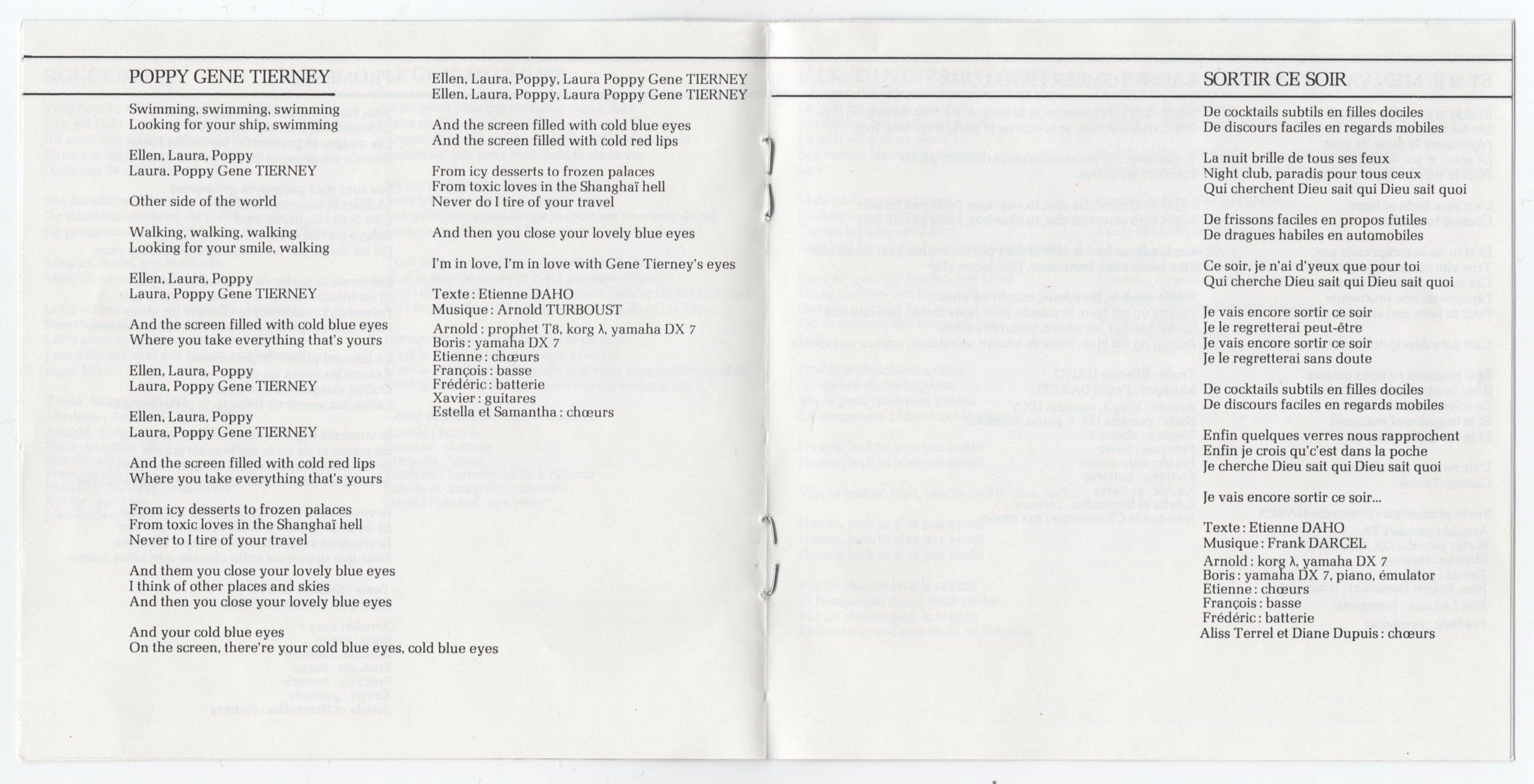 Livret intérieur, page 6-7