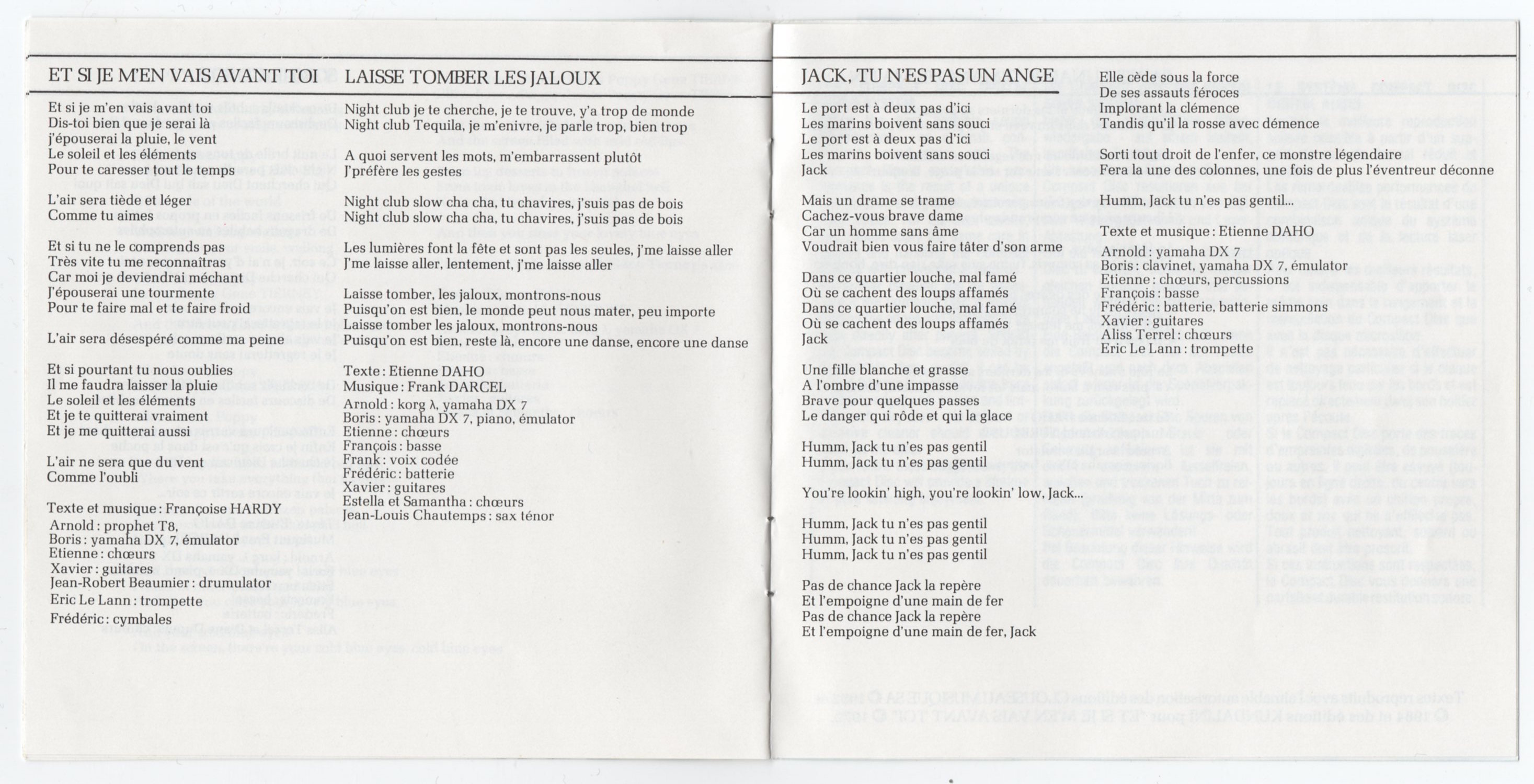 Livret intérieur, page 8-9