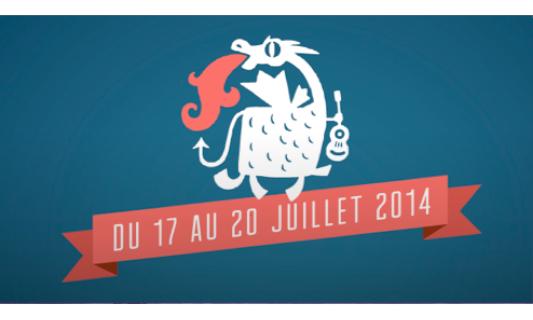 Etienne Daho Affiche festival Vieilles Charrues Carheix