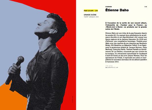 Etienne Daho - Extrait programme de L'Onde