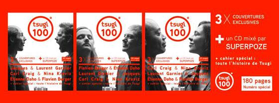 Etienne Daho et Flavien Berger - Couverture magazine Tsugi mars 2017
