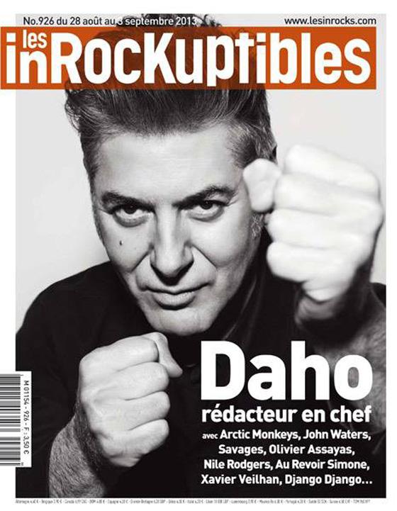 Etienne Daho - Les Inrockuptibles n° 926