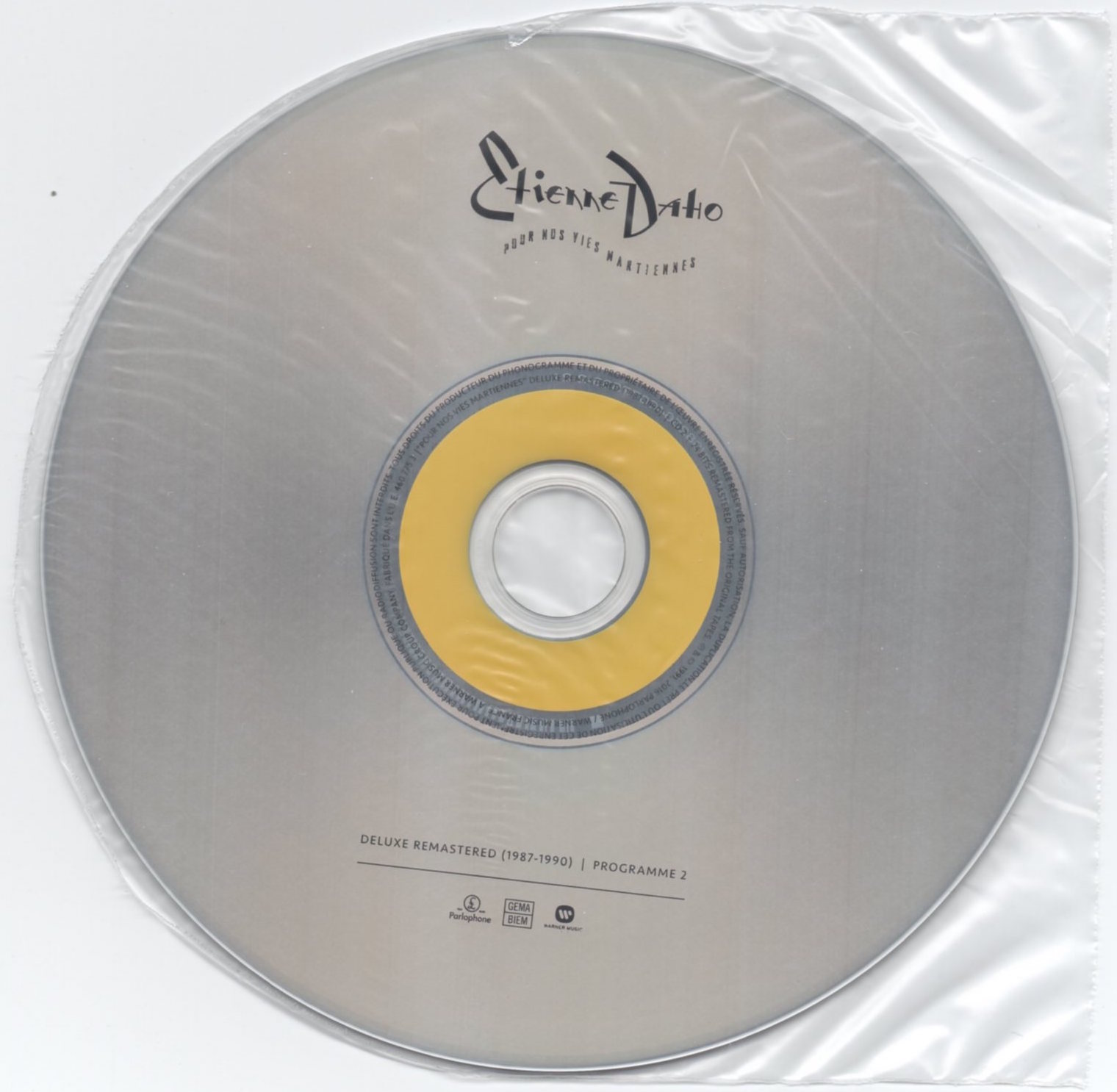 Feuille protection CD2