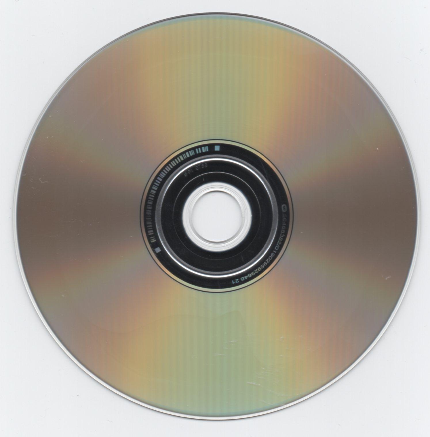 CD verso