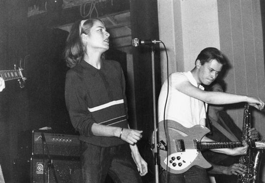 Concert des Stinky Toys Rennes 1978
