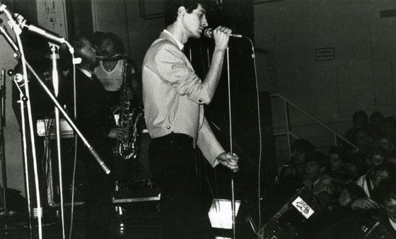 Transmusicales de Rennes, 18 décembre 1980 <br /> Crédit : Pierre-René Worms