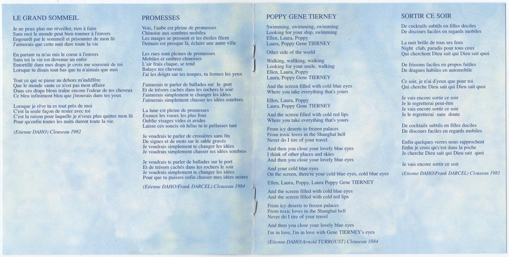 Livret intérieur, page 4-5
