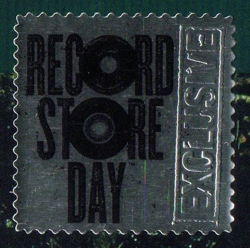 "Stick ""Record Store Day"" 38 mm x 38 mm"