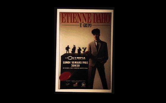 Etienne Daho - Etienne Daho E Grupo - Concert Paris Olympia 18 mars 1985