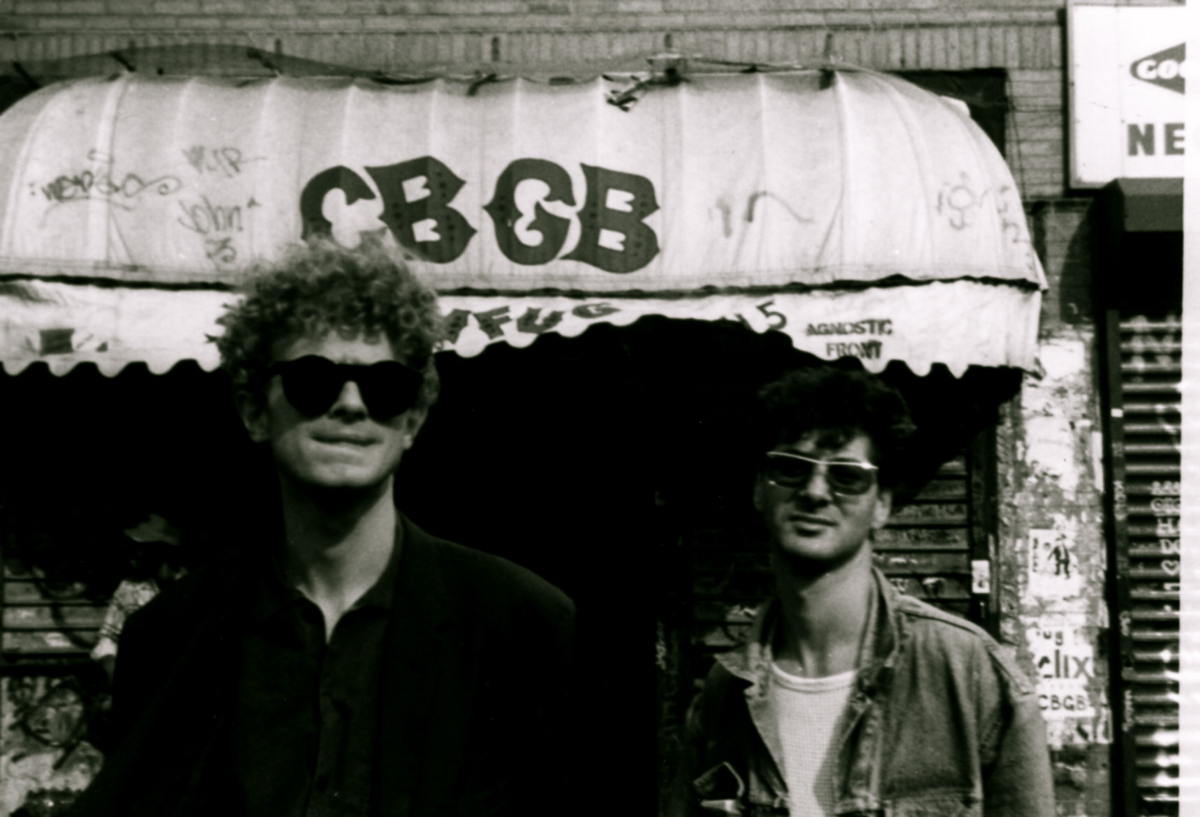 Etienne et Arnold Turboust CBGB (New York)