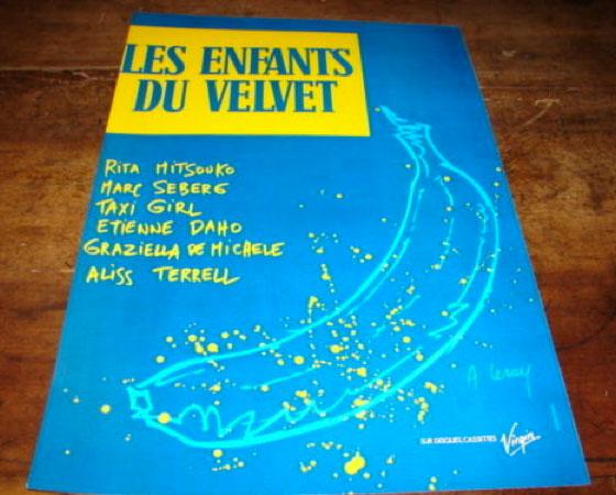Etienne Daho - Les enfants du Velvet - Publicité
