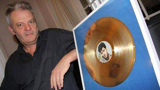2013, Franck Darcel et son disque d'or d'Etienne