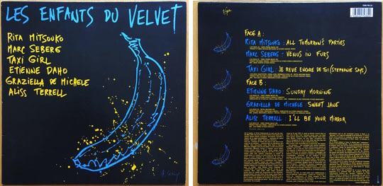 Album Les enfants du Velvet - Virgin - Etienne Daho - Sunday morning