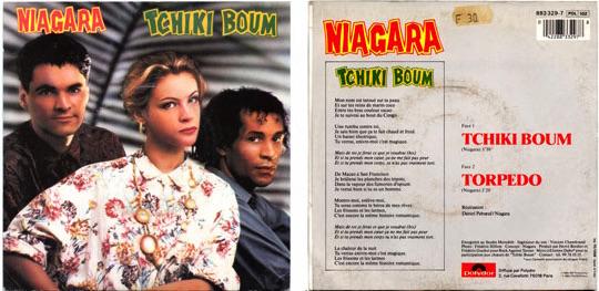 Single Tchiki boum - Niagara - Etienne Daho