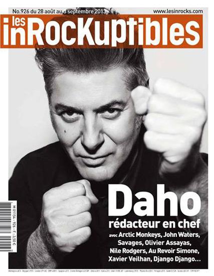 Etienne Daho - Les Inrockuptibles 29 août 2013 n°926