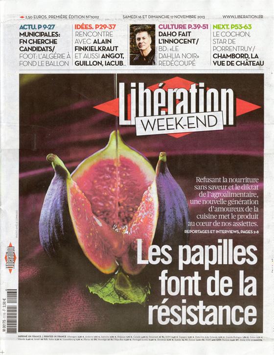 Etienne Daho - Libération du samedi 16 novembre 2013