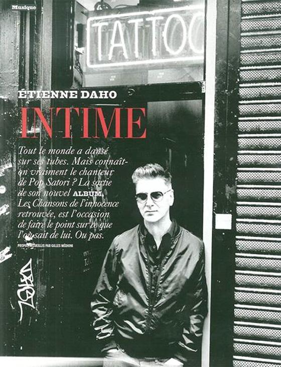 Etienne Daho - L'Expansion - octobre 2013