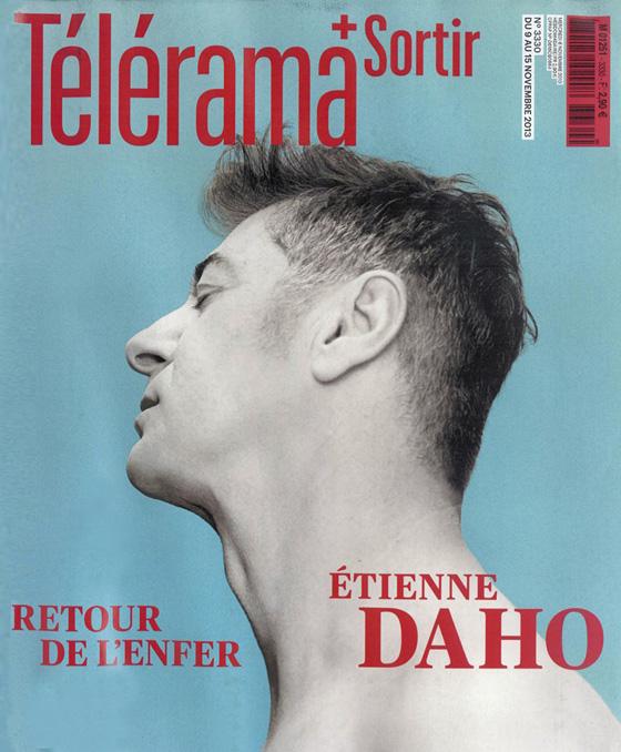 Etienne Daho - Télérama 9 novembre 2013