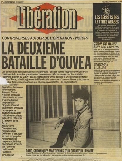 Etienne Daho - Libération 25 mai 1988
