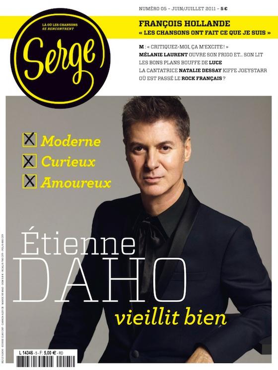 Etienne Daho Couverture Serge